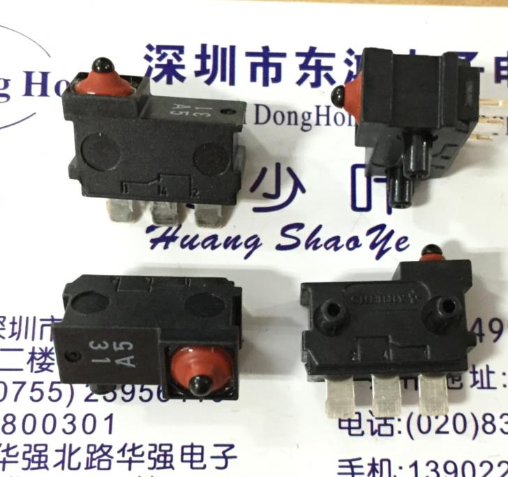 10PCS/LOT Germany CHERRY cherry DJ1G-AG29 waterproof micro switch, vertical miniature limit stroke switch 10pcs lot ds2406p ds2406 dual addressable switch plus 1kb memory