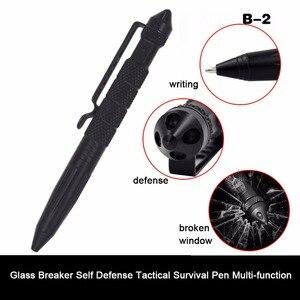 Image 3 - Wielofunkcyjny długopis taktyczny broń do samoobrony element do tłuczenia szkła ze stopu aluminium ze stopu aluminium narzędzie edc zestaw survivalowy na świeżym powietrzu zestaw ratunkowy
