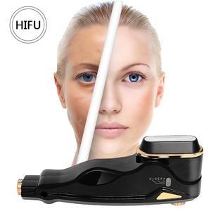 Image 3 - Melhor cuidados com a pele spa beleza v cura mini hifu alta intensidade focalizada levantamento facial máquina rf face lift led anti rugas