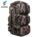 Hot Top Quality 90L Large Capacity Outdoor Military travel bags oxford/canvas backpack camouflage duffel bag waterproof backpack