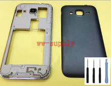 For Samsung Galaxy Core Prime G360 SM G360F Full Housing Front Frame Chassis Back Battery Cover