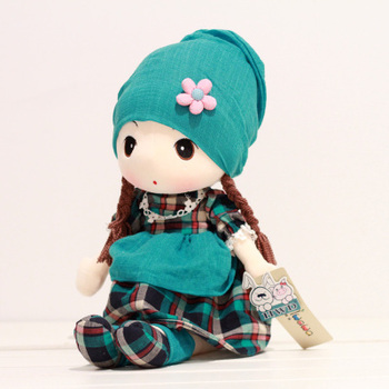 lovely colourful doll 90 cm plush toy soft pillow ,Christmas gift  y007