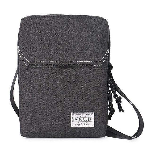 a2e5d6d190a4 US $9.32 20% OFF|Waterproof RFID Blocking Card Holder Multifunction Neck  Hanging Passport Holder Pouch Travel Wallet for Men & Women-in Card & ID ...