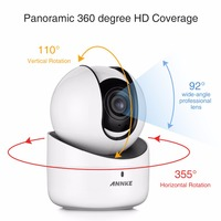 ANNKE HD 720P Mini WiFi Camera 720P CMOS Wireless IP Camera Indoor Wi Fi Network PT
