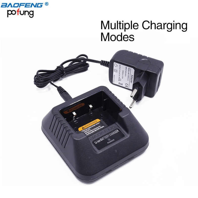 Baofeng UV-5R chargeur de batterie ue/états-unis/royaume-uni/AU/USB/voiture pour Baofeng UV-5R DM-5R Plus talkie-walkie UV 5R Radio jambon UV5R Radio bidirectionnelle