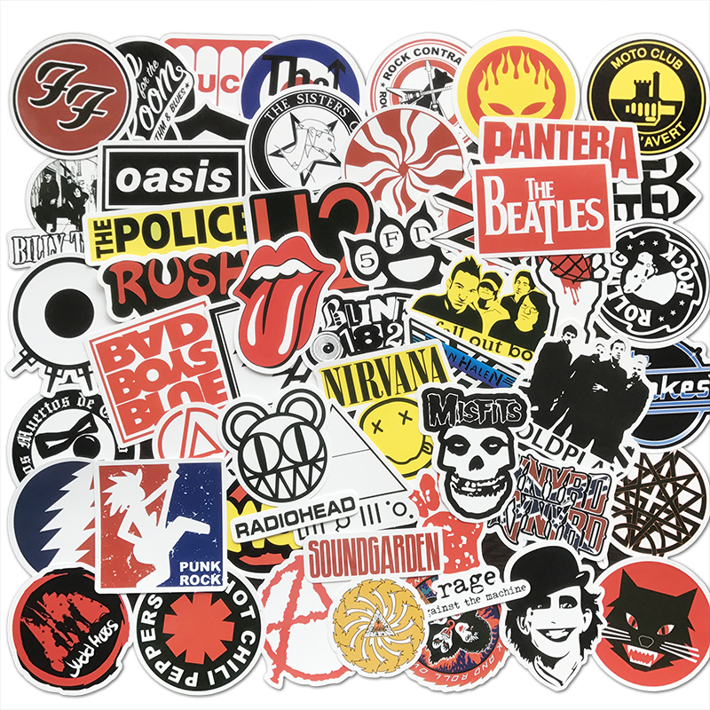 rock band music Stickers
