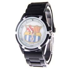 14 Football Club Watches Men World Cup Fans Supplies Design Dial Silicone Sports Clock relogio reloj de pulsera Masculino Hot