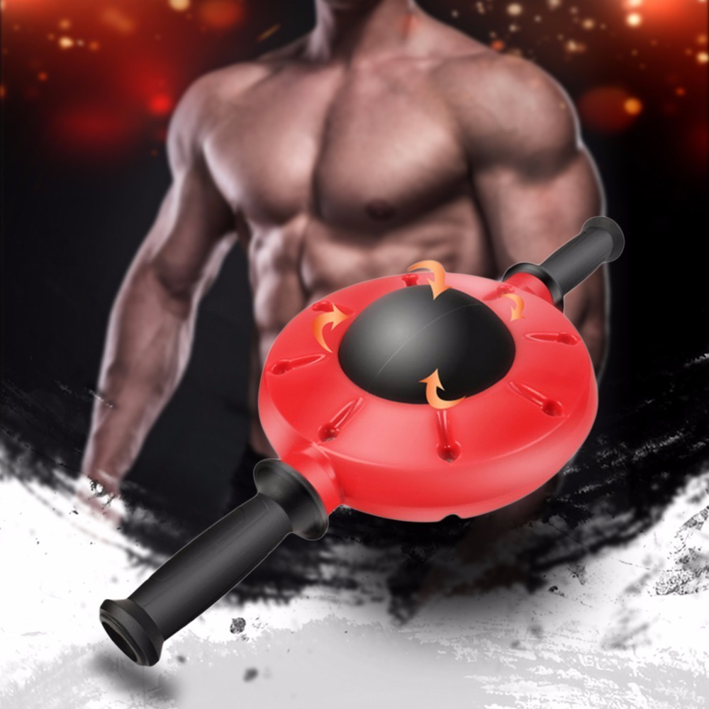 Gym Abdominal Exercise Machine Ab Roller Fitness Exercise Abdominal Trainer Training Wheel Gear Muscle Building Wheel new arrival high quality exercise equipment professional 4 wheels abdominal ab roller indoor fitness crossfit equipment