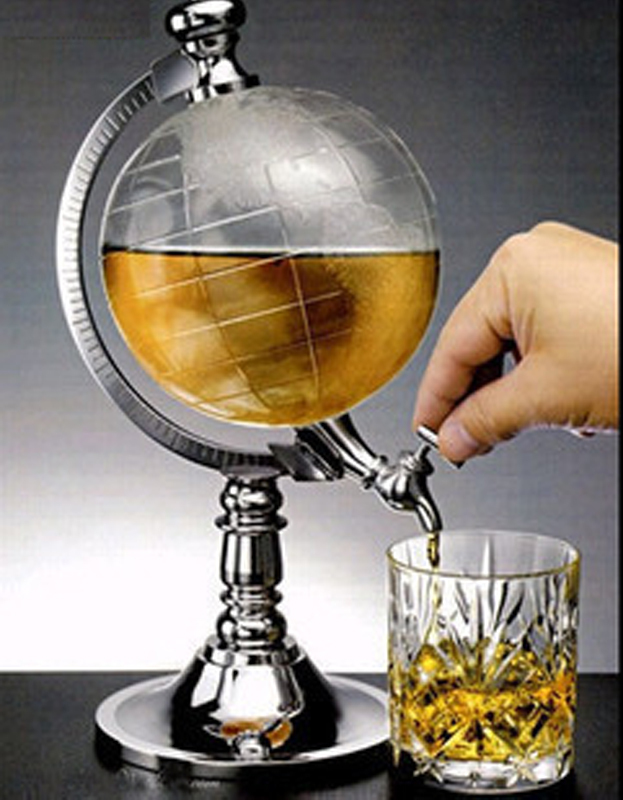 Online Shop Novelty Globe Shape Home Drink Dispenser Beverage Tabletop Beer  Dispenser In Office Bar Free Shipping, Dropshipping | Aliexpress Mobile