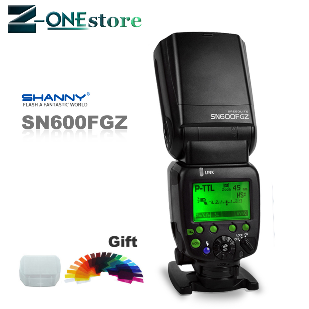 New Shanny SN600FGZ P TTL GN60 1/8000s Slave On Camera Flash speedlite for Pentax K100 K100D K200D K 7 K x K r K 5 K 01|Flashes| |  - title=