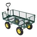 Panana тяжелых сад тележка 4 колеса четырехколесный прицеп большой 500 кг мешок грузовик Быстрая доставка