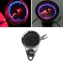 Universal LED Motorcycle Tachometer DC 12V Meter 13K RPM For Honda Yamaha Suzuki Drop shipping