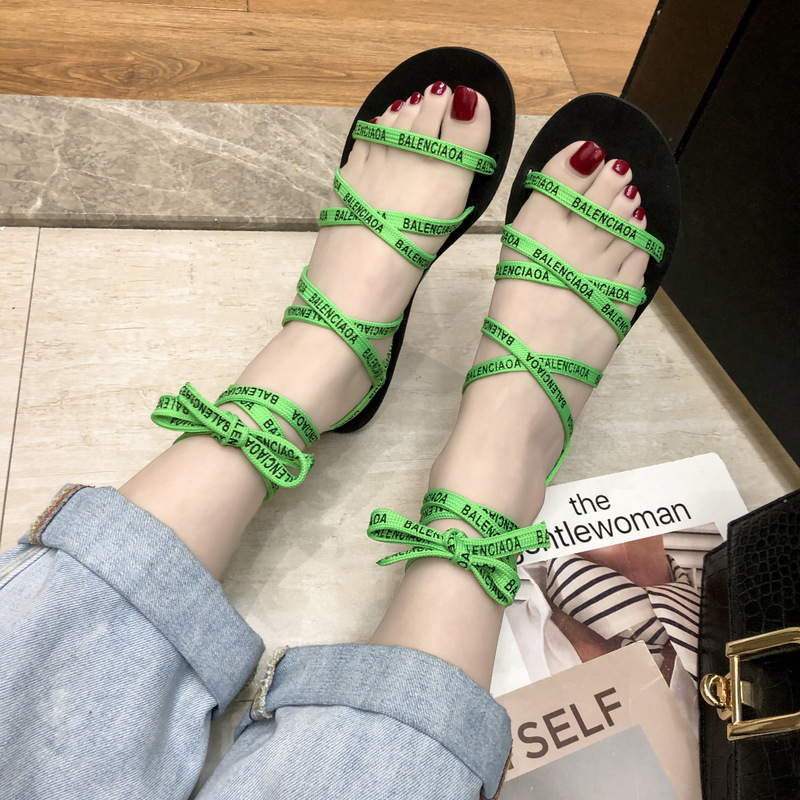 Women Sandals Open Toe Gladiator Sandals Women Casual Lace Up Sandals Cross Tied Roma Sandals Shoes Female 2019 Summer NewWomen Sandals Open Toe Gladiator Sandals Women Casual Lace Up Sandals Cross Tied Roma Sandals Shoes Female 2019 Summer New