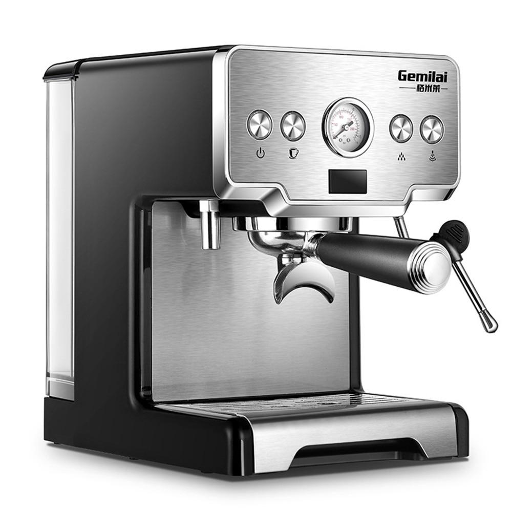 CRM-3605 15 Bar haute efficacité Semi-automatique italien expresso Machine 1.7L réservoir d'eau cafetière 1450 W grande puissance vapeur chaude
