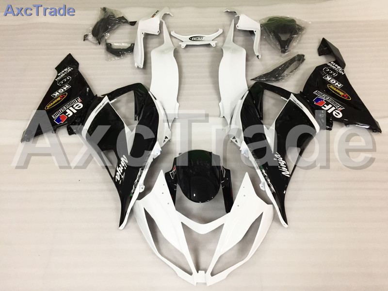 Motorcycle Fairings For Kawasaki Ninja ZX6R 636 ZX-6R 2013 2014 2015 2016 13-16 ABS Plastic Injection Fairing Bodywork Kit White plastic fairings for kawasaki zx6r 2011 body kits 636 zx 6r 2010 2009 2012 white black bodywork zx6r 09 10