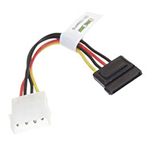 5x 5 SATA Power Adapter Cable and 5 SATA Data Cable