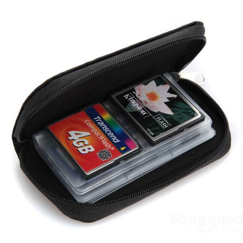 New Qualified Memory Card Storage Wallet Case Bag Holder SD Micro Mini 22 Slots Camera Phone Levert Dropship dig639