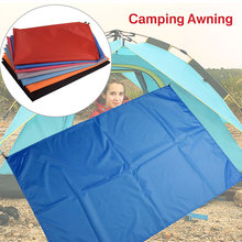 5 цветов Ткань Оксфорд многофункциональный дорожный тент навес пляжный коврик практичная палатка ткань прочная походная ткань на открытом воздухе
