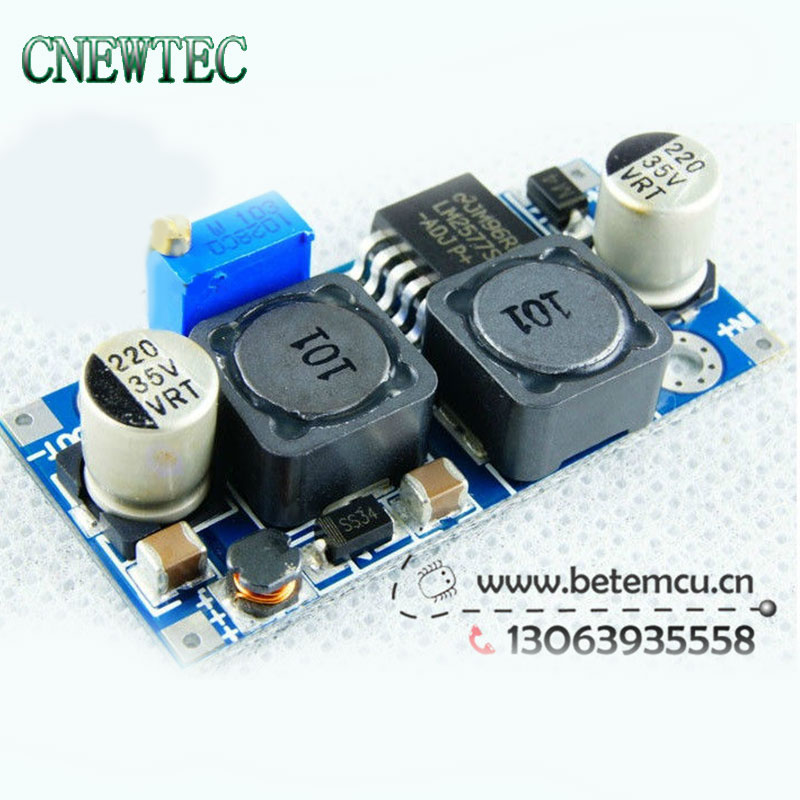 Active Components Diligent 1pcs Automatic Lm2577 Step Up And Step Down Solar Power Supply Module Dc-dc 3v-35v Turn 1.2v-30v Modern Techniques