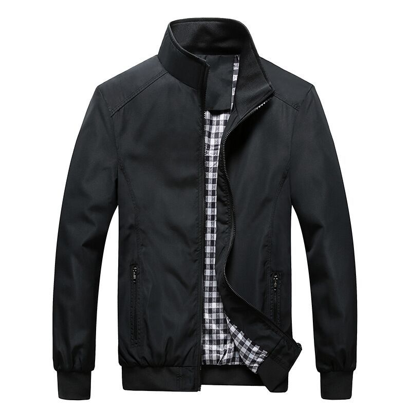 Hot Selling men's clothing 2018 promotion men's jacket business outerwear plus size M-5XL Slim Fit casual coat new male jackets