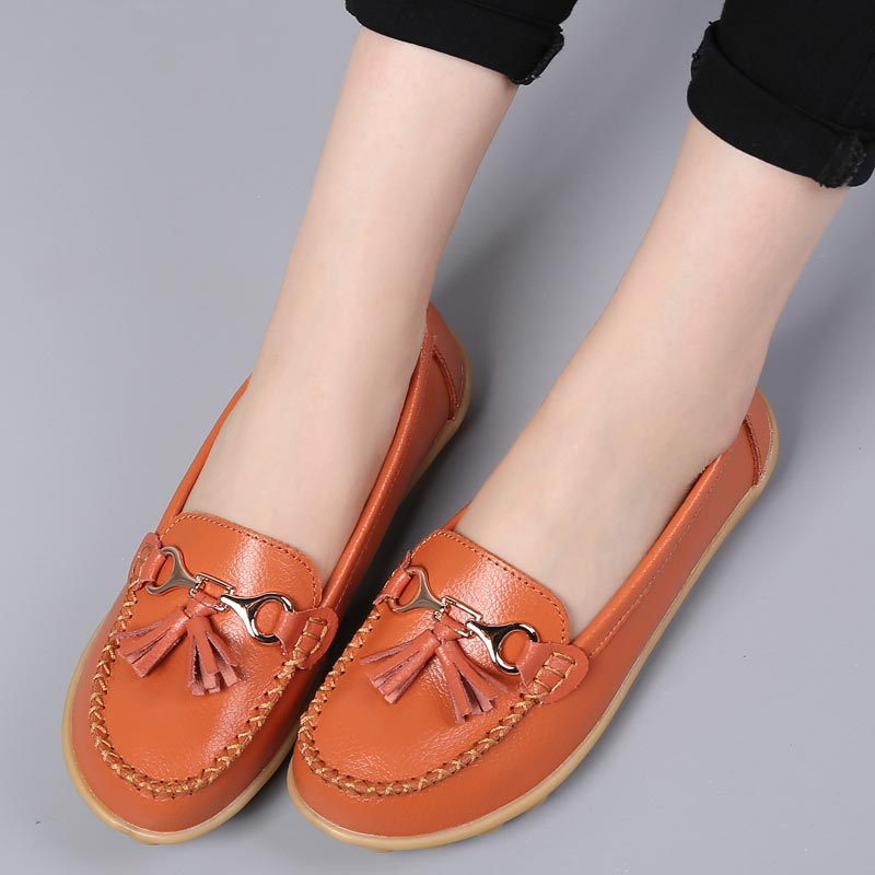 Boat-shoes-woman-fashion-genuine-leather-flats-shoes-tassel-fringe-solid-color-loafers-shoes-female-round (2)
