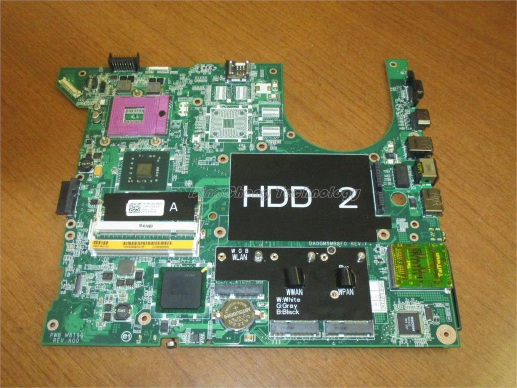 SHELI laptop Motherboard/mainboard for dell inspiron 1735 0NU493 CN-0NU493 with integrated graphics card 100% tested hot for lenovo z500 laptop motherboard viwzi z2 la 9061p z500 2g video card with graphics card ev2a 100% tested