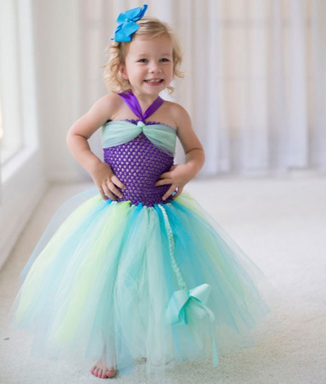 Ariel Inspired Princess Tutu Dress Little Mermaid Inspired Princess Birthday1