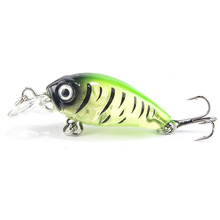1PCS 4cm 4.5g Swim Fish Fishing Lure Artificial Hard Crank Bait topwater Wobbler Japan Mini Fishing Crankbait lure