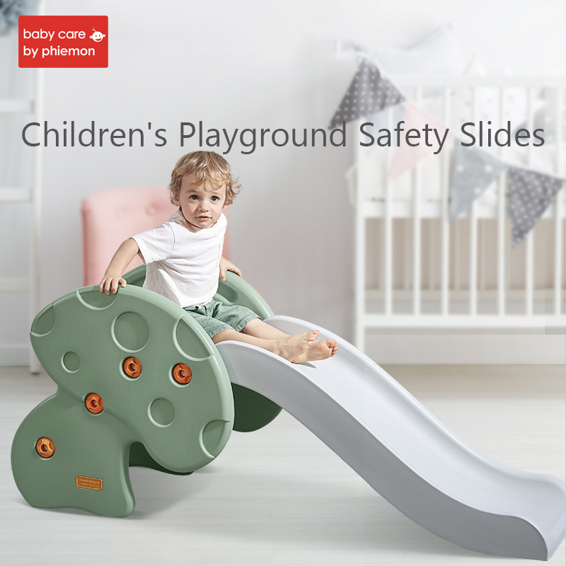 Children's Safety Slides Eco-friendly HDPE Slider Household Playground Climbing Thickened Lengthening Slider Kids Activity Toys