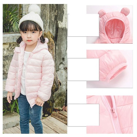 2019 Autumn Winter Jackets For Girls Coat Children Parkas Kids Boys Jackets Baby Girls Jackets Warm Hooded Outerwear Coat Lahore