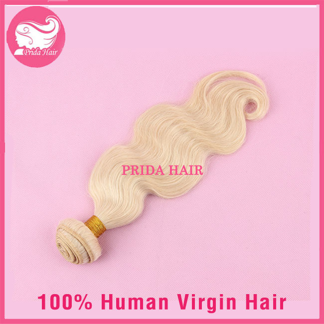 7A Unprocessed Chinese 613 Blonde Virgin Hair Bundles Body Wave Chinese Human Virgin Blonde Hair Weave 1pc 613 Hair Extensions
