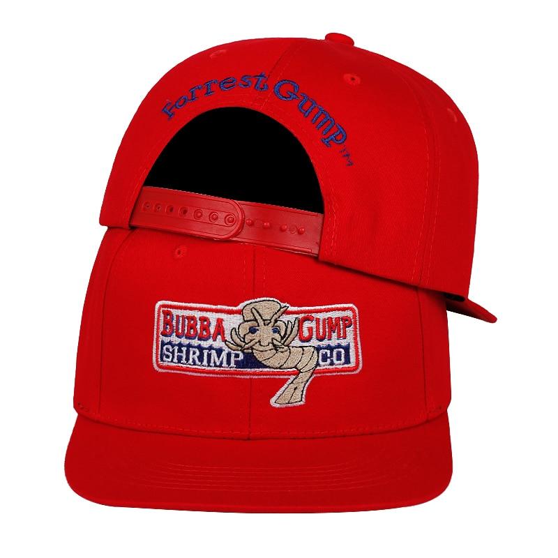 BUBBA GUMP Cap SHRIMP CO Truck Baseball Cap Men Women Sport Summer Snapback Cap Hat Forrest Gump Adjustable Hat