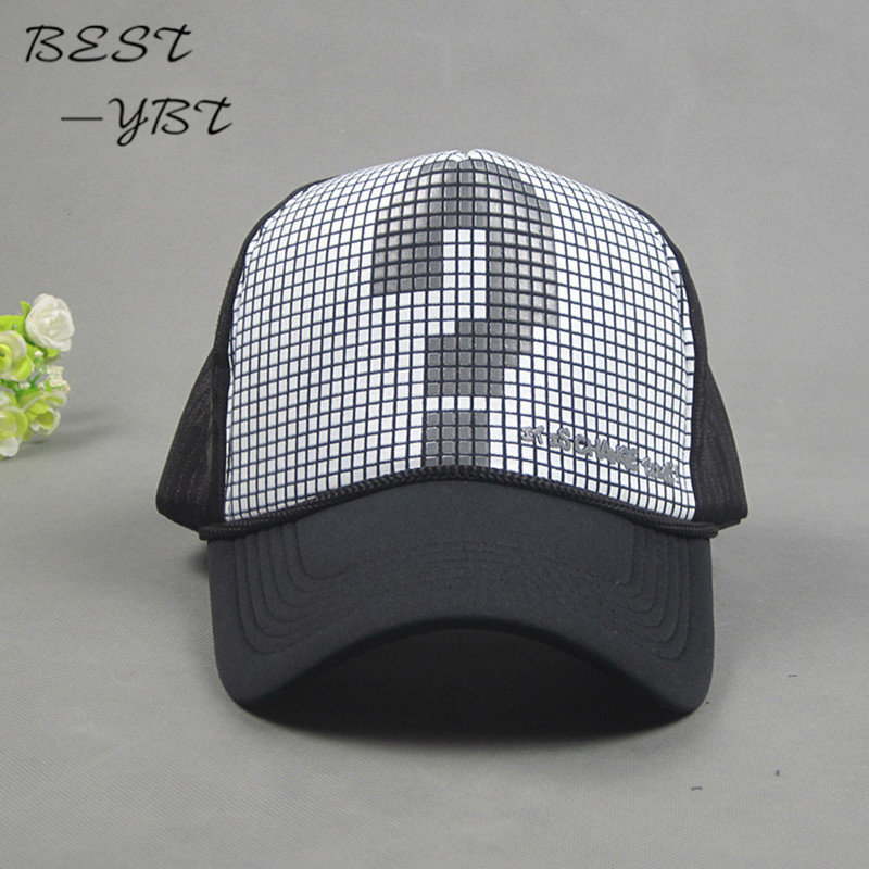 Korean question mark tide cap summer mesh cap hip-hop hip-hop hat sun hat high quality Flat-brimmed hat snapback caps