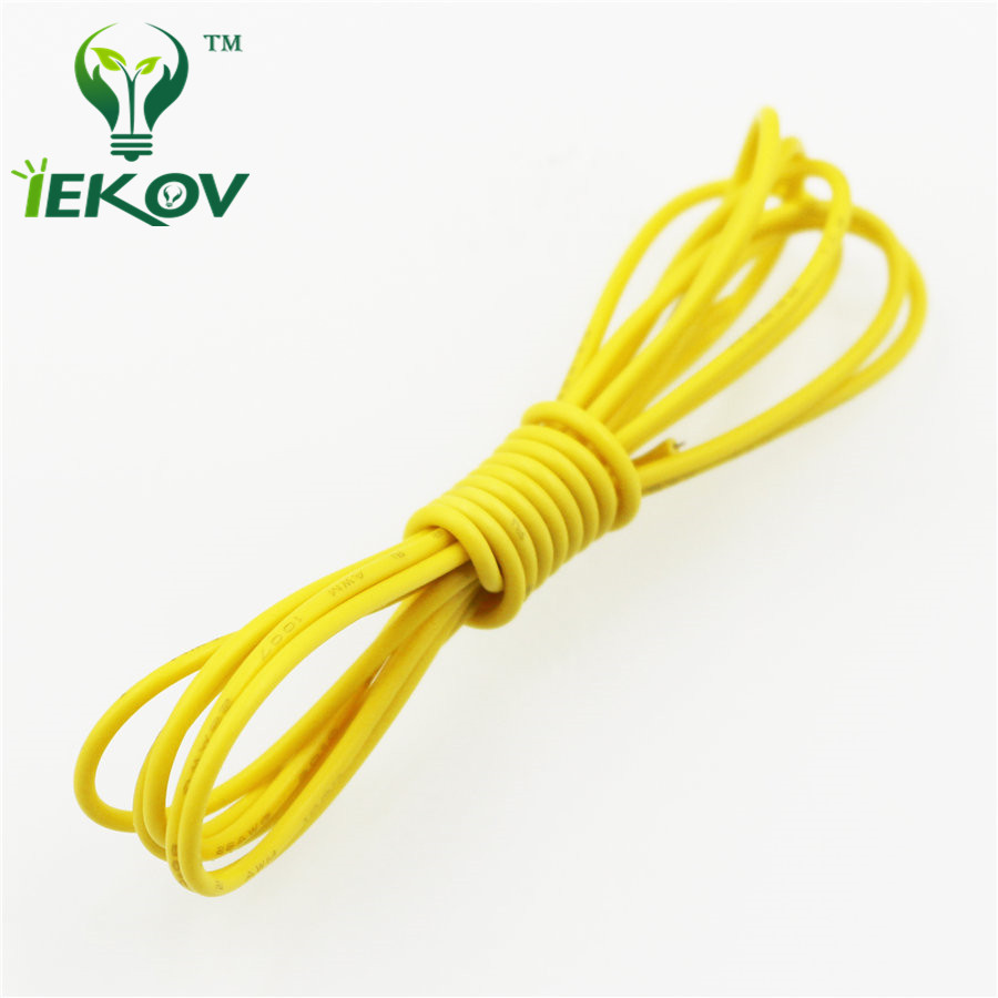 5M/lot 16.4ft 20 AWG 16.4 FT <font><b>UL1007</b></font> Flexible Stranded 10 Colors Electronic Wire Conductor To DIY Electrica Wires Cables <font><b>20AWG</b></font> image