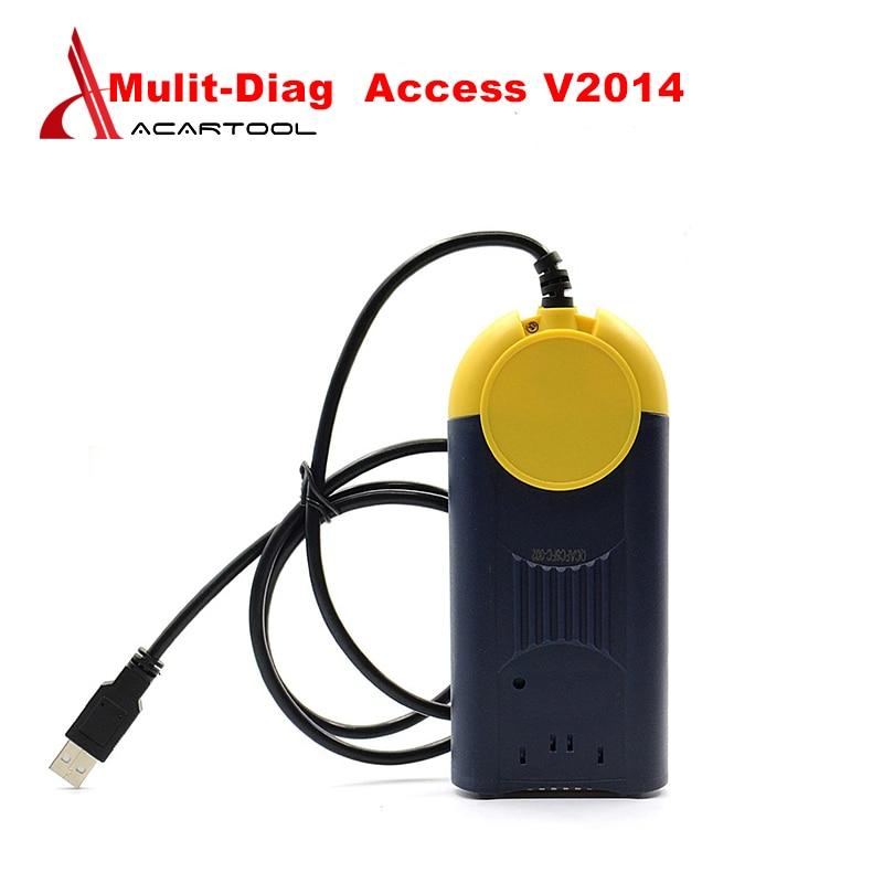 OBD2 V2014.01 multi-diag Access J2534 dispositif de passage J2534 MultiDiag accès outil de Diagnostic automatique