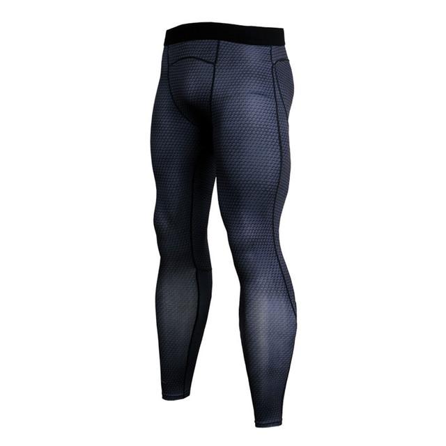 a6c19adc83 2018 new Men's Compression Pants Sport Tights Jogging Running Pants Men  Bodybuilding Skinny Leggings Sport Fitness
