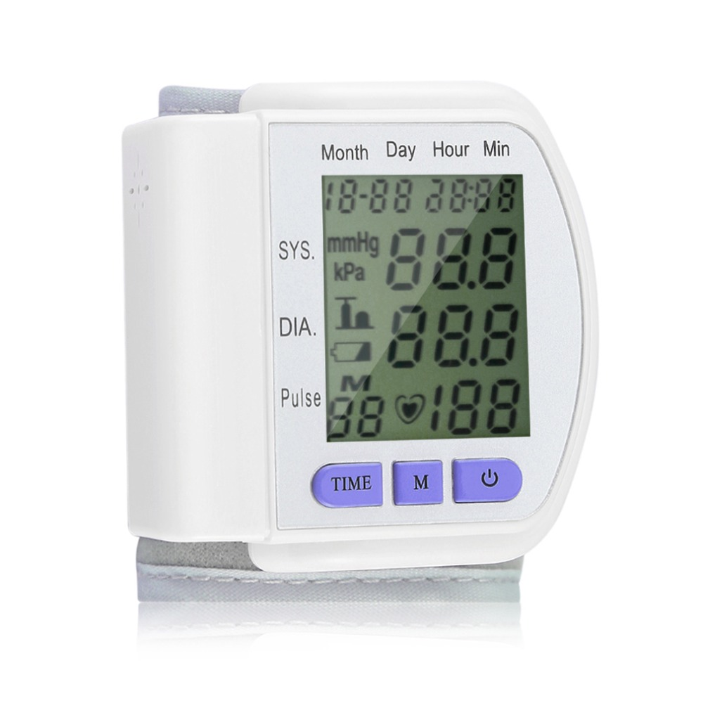 Tonômetro de Manguito de Pulso automático Monitor