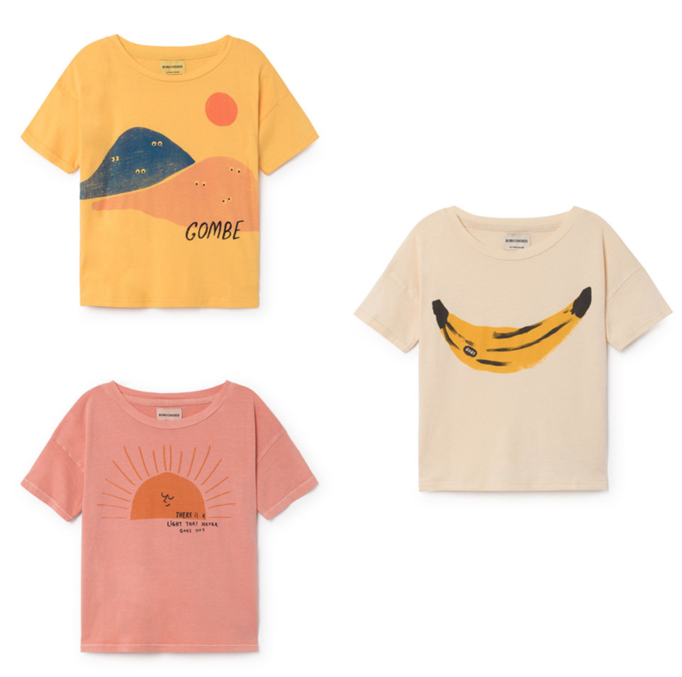 Clothing, Shirt, Tees, Choses, Cartoon, Summer