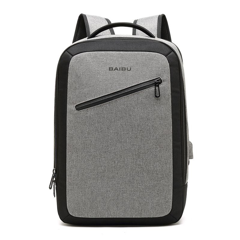 DAYGOS Men Multifunction USB Charging Large Capacity Multi-pocket 15.6 Laptop Backpack Waterproof Business Large Travel Backpack