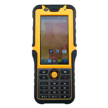 2017 وعرة مقاوم للماء هاتف كبير يده محطة الباركود ماسح ضوئي أندرويد بلوتوث المساعد الشخصي الرقمي NFC 2D قارئ الليزر 3G جامع البيانات