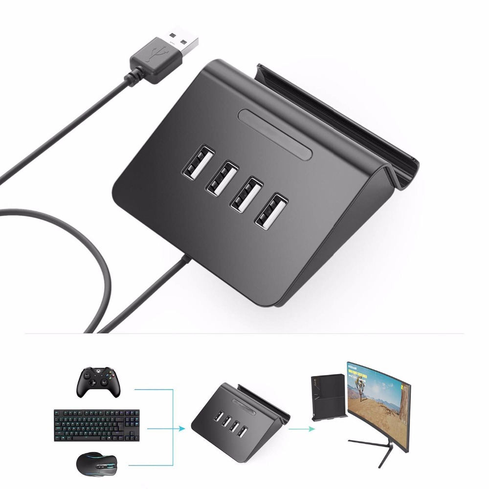 HFES For PUBG FPS Game Controller Keyboard and Mouse 4 in 1 HUB Adapter for PS3 / PS4 / XBOX One / Nintendo SwitchHFES For PUBG FPS Game Controller Keyboard and Mouse 4 in 1 HUB Adapter for PS3 / PS4 / XBOX One / Nintendo Switch