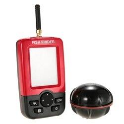 Portatile Intelligente Fish Finder di Profondità con 100 M Wireless Sonar Sensor ecoscandaglio Fish finder per il Lago Mare Pesca Outdoor nuovo