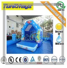 Inflatables Bouncer Castle,Trampoline Bouncy Toy For Children, Kids Outdoor Inflatable House
