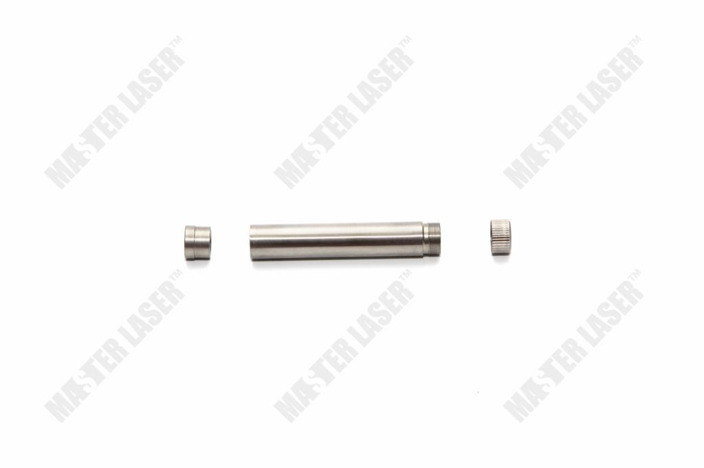 Replacement of Yag Laser Cutting Machine Golden Laser Cavity Laser Rod Fixed Sleeve Connector Dia 4-9mm laser sword of the double head laser sword cu guangzhu stage performance props laser rod 100mw