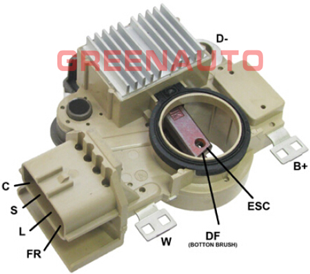 C F further Maxresdefault additionally Pic X further Mustangwiring Diagram besides B F C. on chrysler voltage regulator wiring diagram