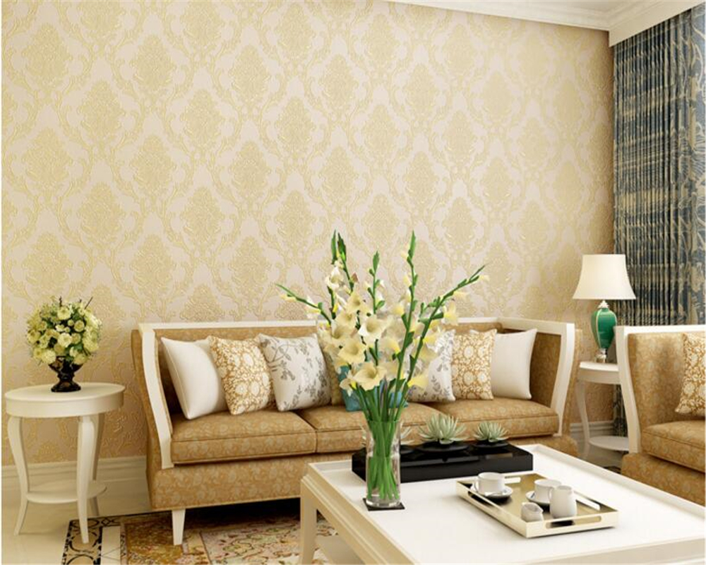 beibehang 3D three-dimensional non woven wallpaper European Damascus wallpaper bedroom living room TV background papel de parede beibehang precision pressure 3d three dimensional non woven wallpaper sofa wall paper wallpaper living room bedroom full shop