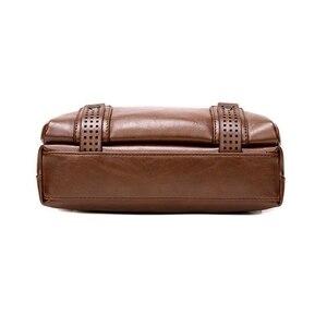 Image 5 - Bolso cruzado de mano para hombre, bandolera cruzada, conjunto de monederos para documentos