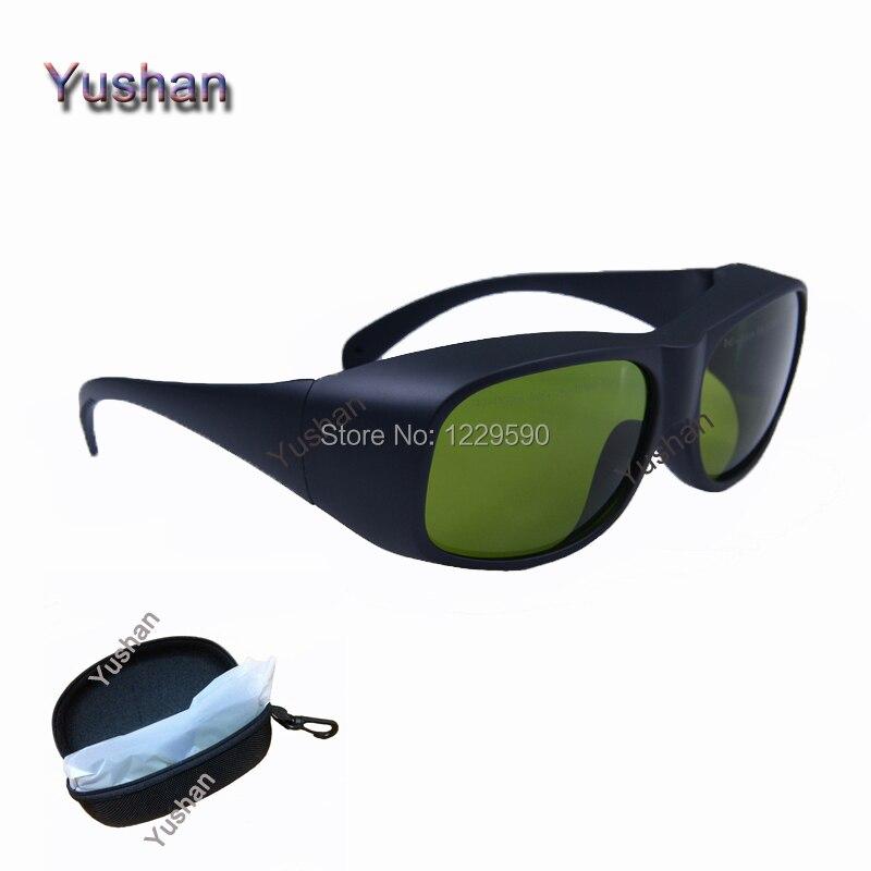 Multi волны глаз лазерная защитные очки Очки 755 & 808 & 1064nm nd: yag лазер защиты Очки
