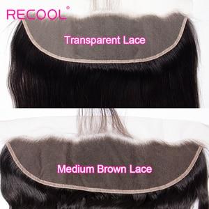 Image 3 - Cheveux brésiliens Remy Swiss Lace Frontal Closure Recool