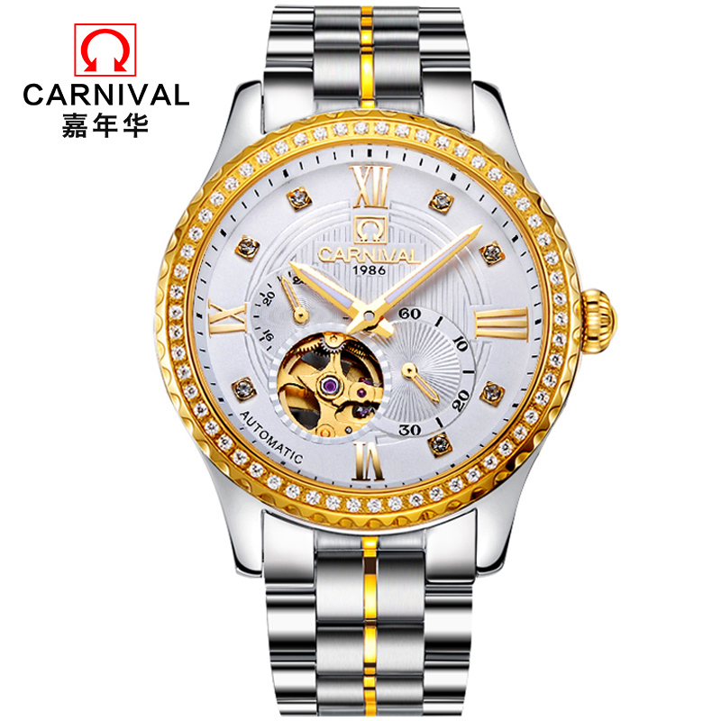 Mens Watches Top Brand Luxury Carnical 2018 Men Watch Sport Tourbillon Automatic Mechanical Leather Wristwatch Relogio Masculino mens watches top brand luxury ik 2017 men watch sport tourbillon automatic mechanical full steel wristwatch relogio masculino